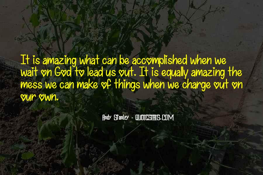 My God Is Amazing Quotes #110555