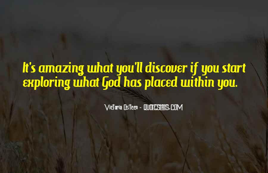 My God Is Amazing Quotes #140663
