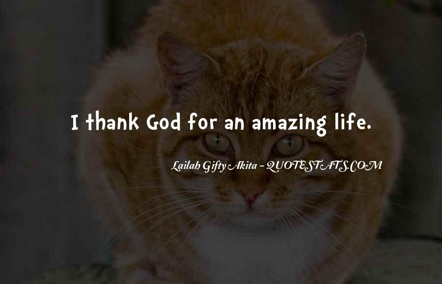 My God Is Amazing Quotes #221812