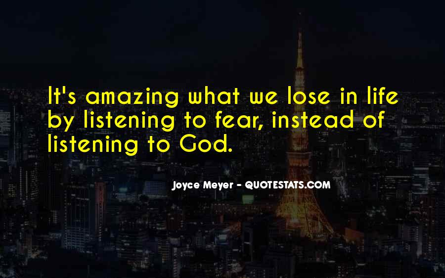My God Is Amazing Quotes #3271