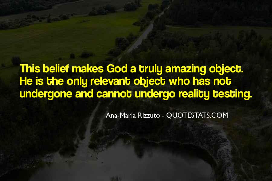 My God Is Amazing Quotes #381563