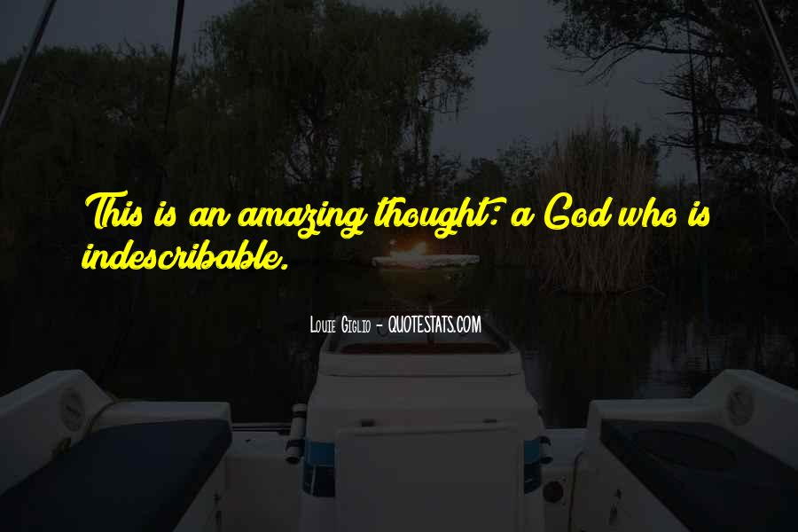 My God Is Amazing Quotes #415583