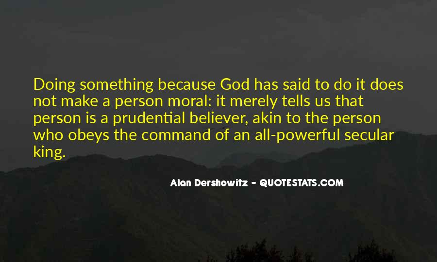 My God Is Powerful Quotes #121878