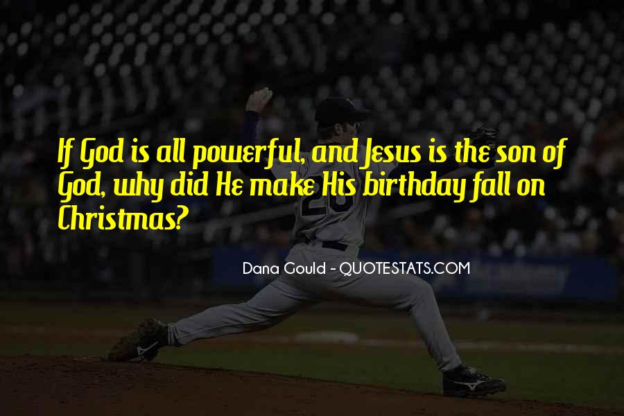 My God Is Powerful Quotes #132222