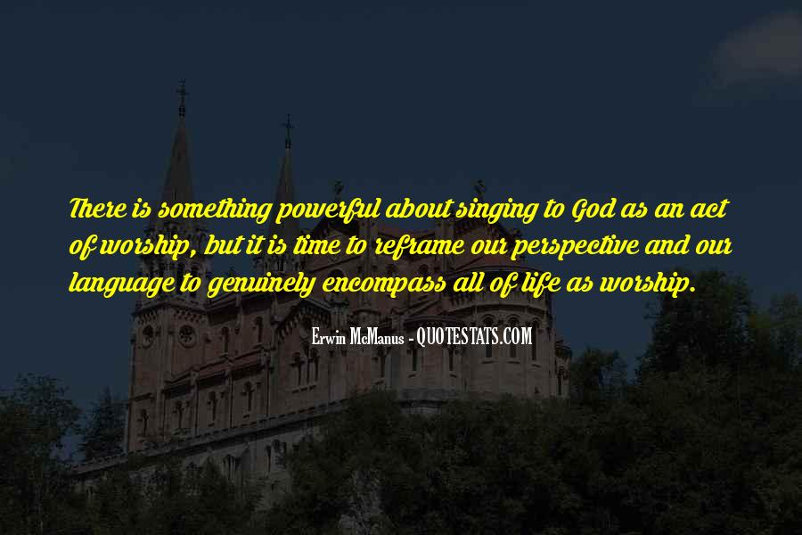 My God Is Powerful Quotes #171256