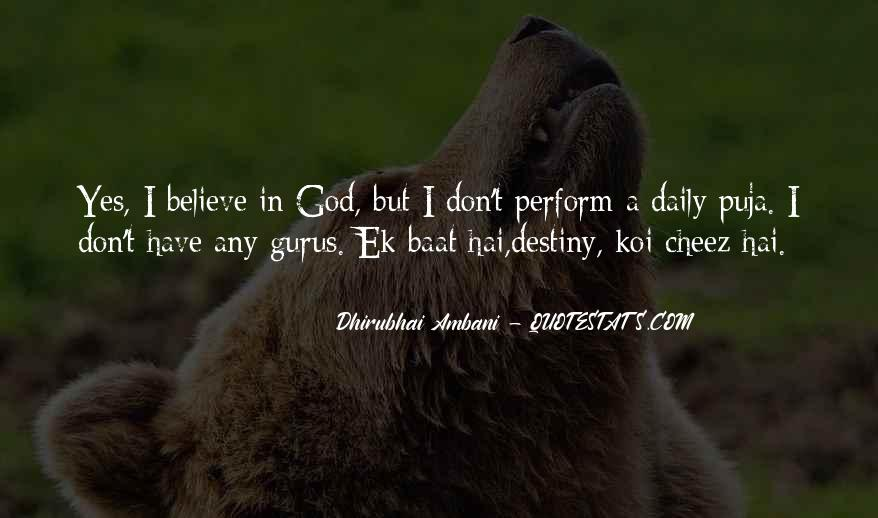 My God Is Powerful Quotes #17295