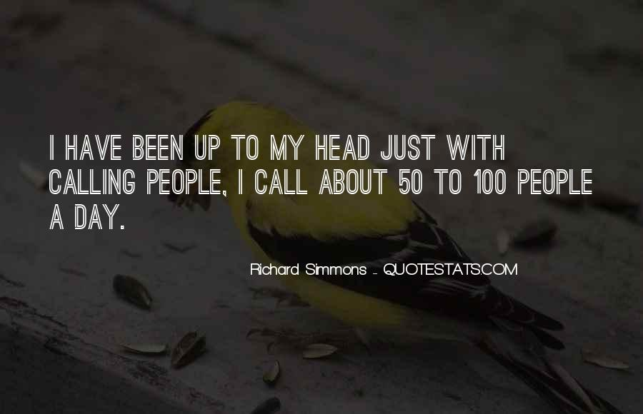 My Head Up Quotes #173503
