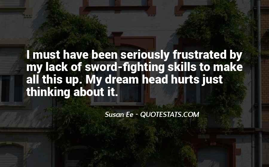 My Head Up Quotes #291877