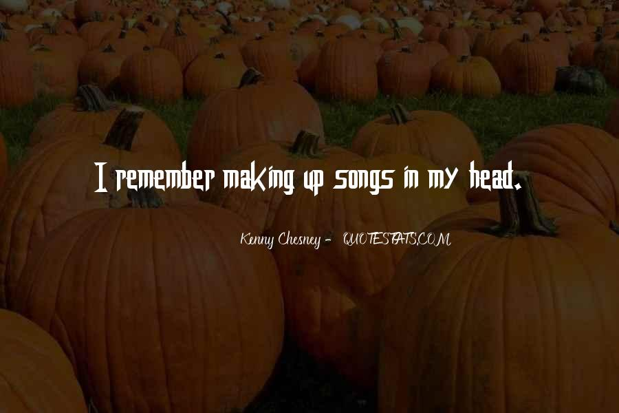 My Head Up Quotes #31721