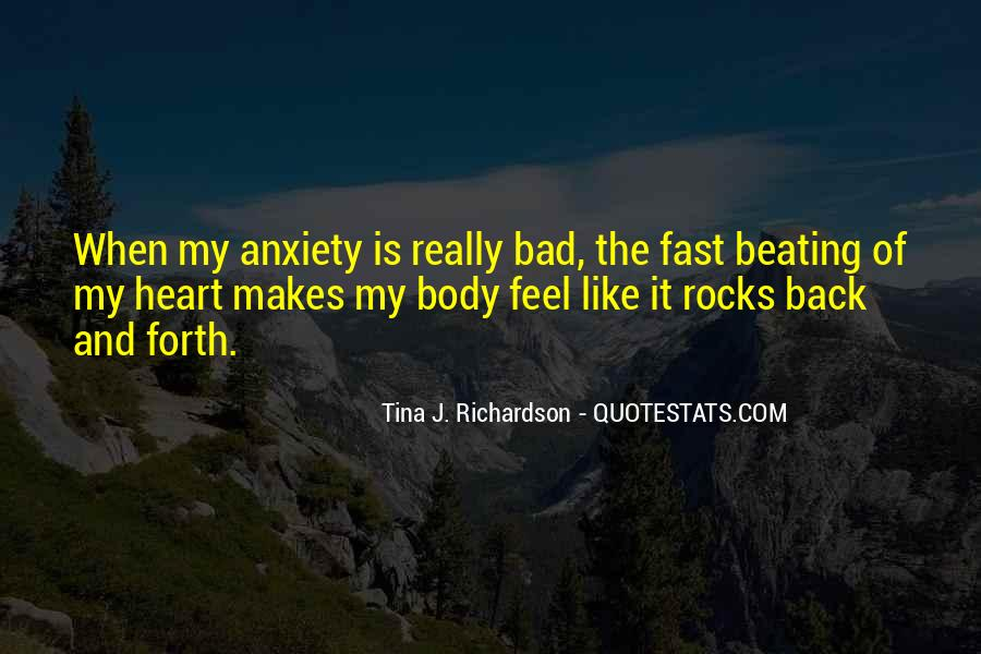 My Heart Beating So Fast Quotes #971911