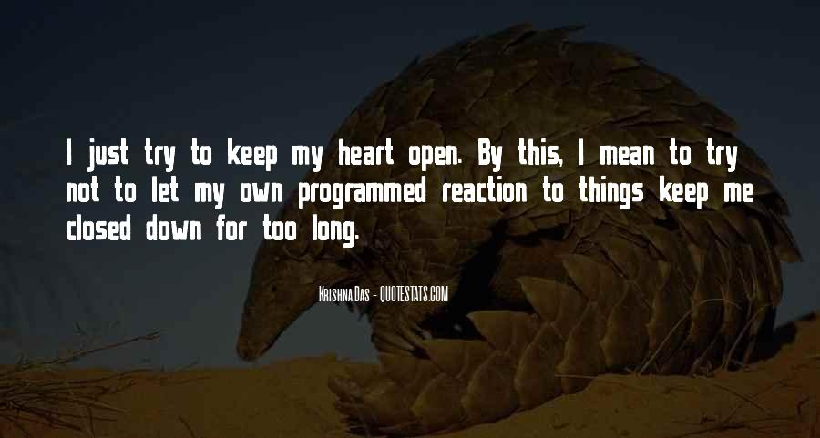 My Heart Closed Quotes #1183297