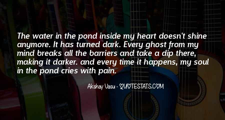 My Heart Cries Quotes #60303