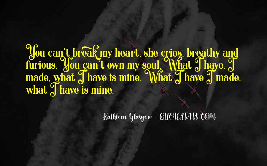 My Heart Cries Quotes #709728