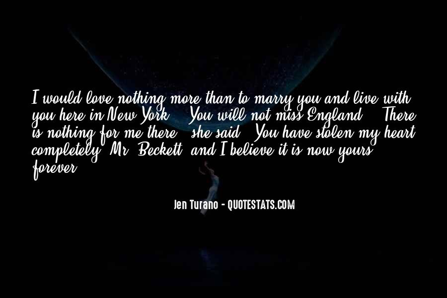 My Heart Is Forever Yours Quotes #1056871