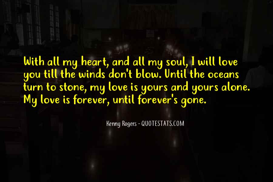 My Heart Is Forever Yours Quotes #1459084