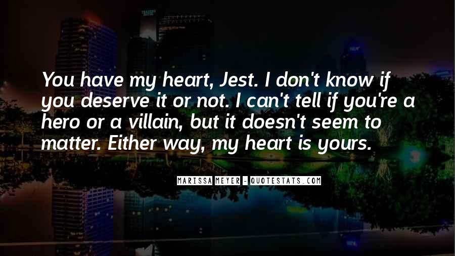 My Heart Is You Quotes #193451