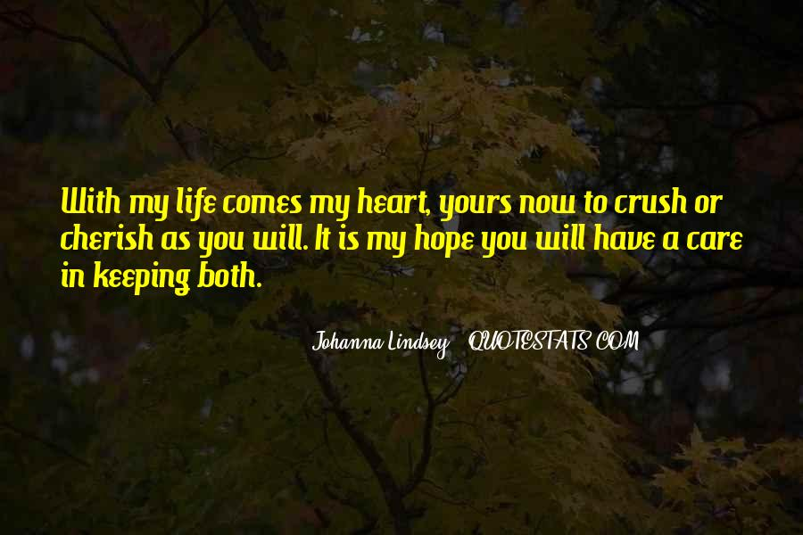 My Heart Is You Quotes #48654