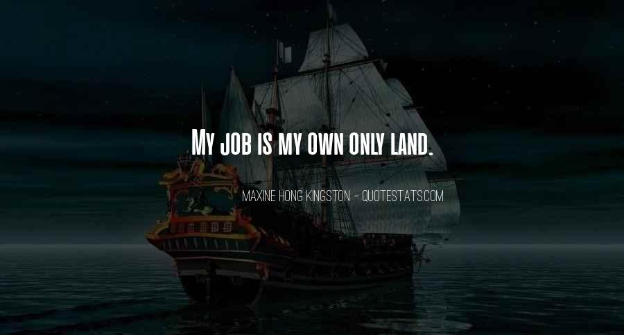 My Home Land Quotes #1848832