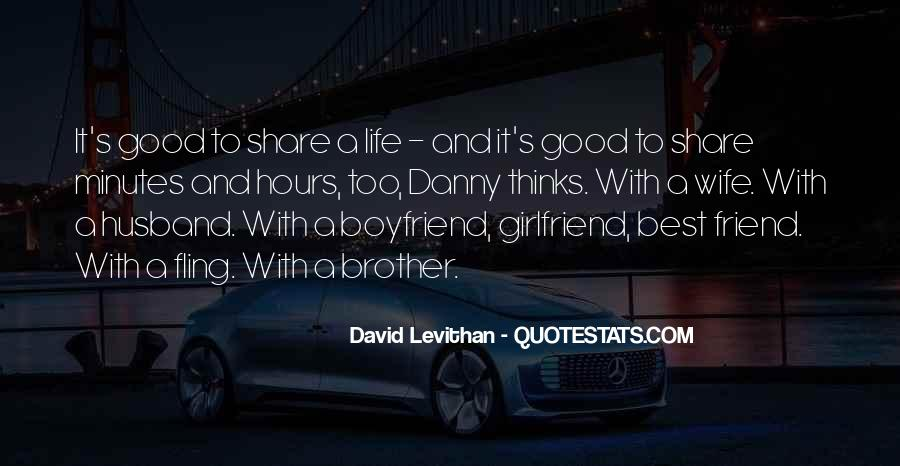 My Husband Is My Only Friend Quotes #511811