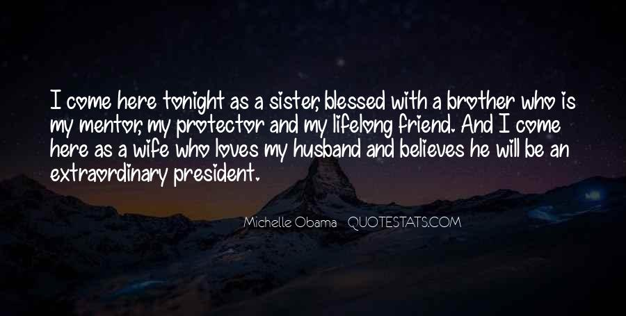 My Husband Is My Only Friend Quotes #928845