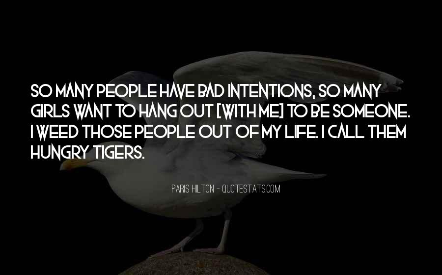 My Intentions Quotes #470456