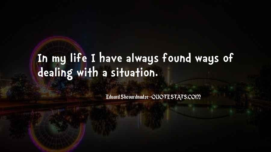 My Life My Ways Quotes #176410