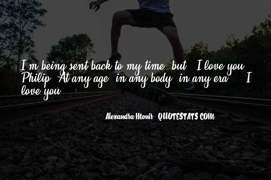 My Love Back Quotes #112985