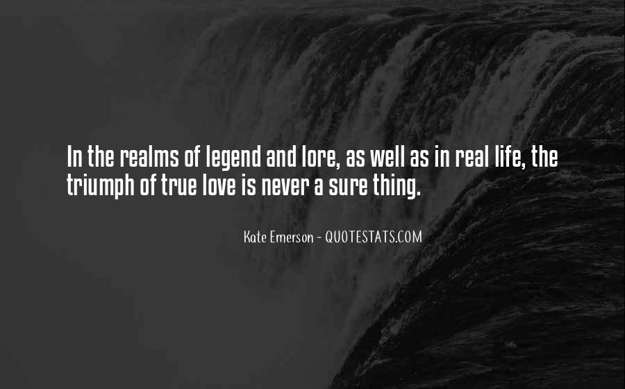 My Love For U Is Real Quotes #10234
