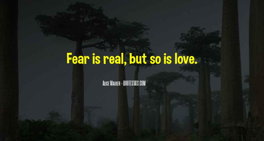 My Love For U Is Real Quotes #8067