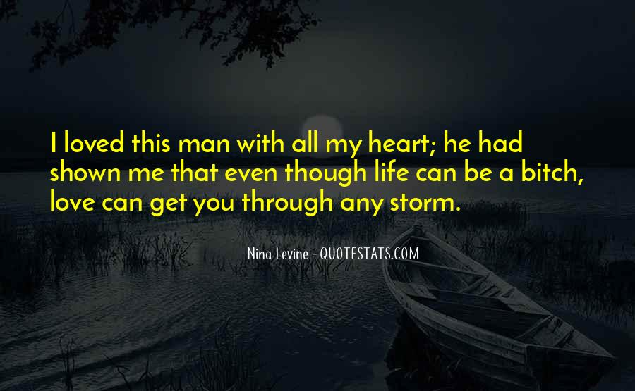 My Man Love Me Quotes #137299