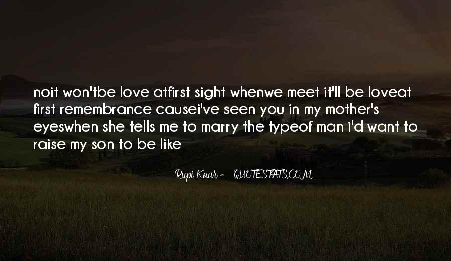 My Man Love Me Quotes #16956