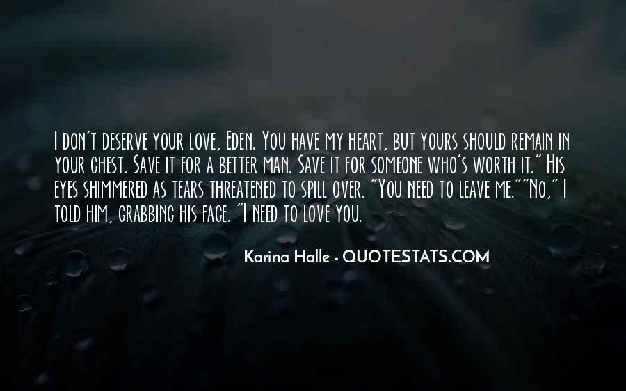 My Man Love Me Quotes #231520