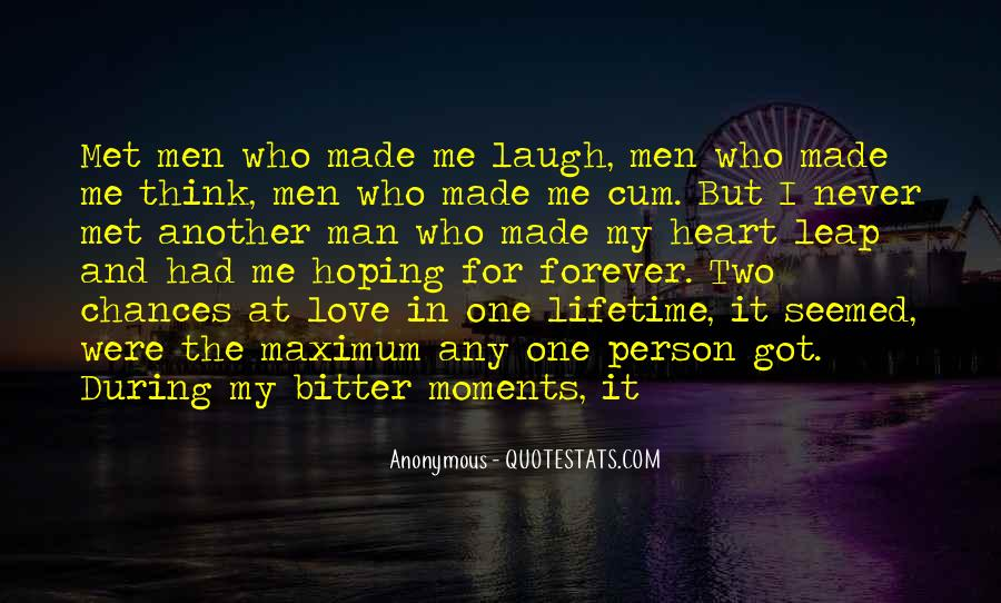 My Man Love Me Quotes #258847