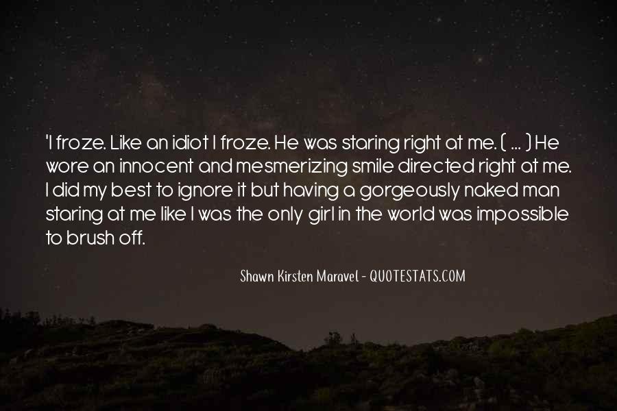 My Man Love Me Quotes #301744