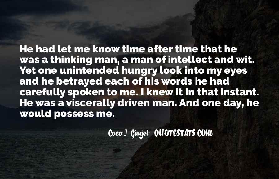 My Man Love Me Quotes #368504