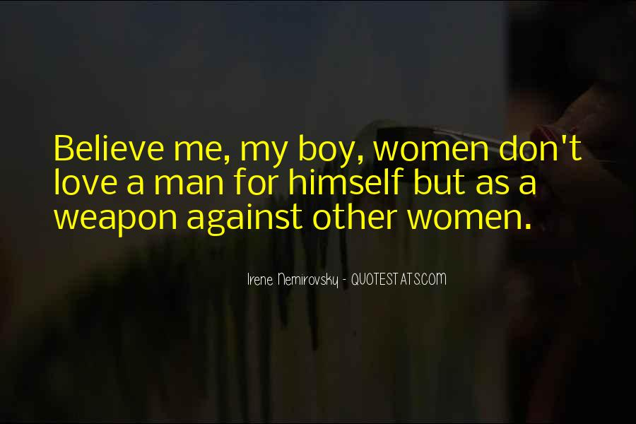 My Man Love Me Quotes #509029