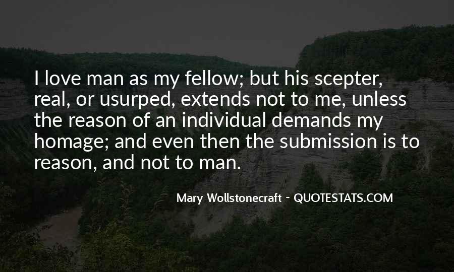 My Man Love Me Quotes #553332