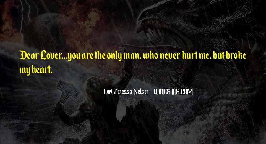 My Man Love Me Quotes #864453
