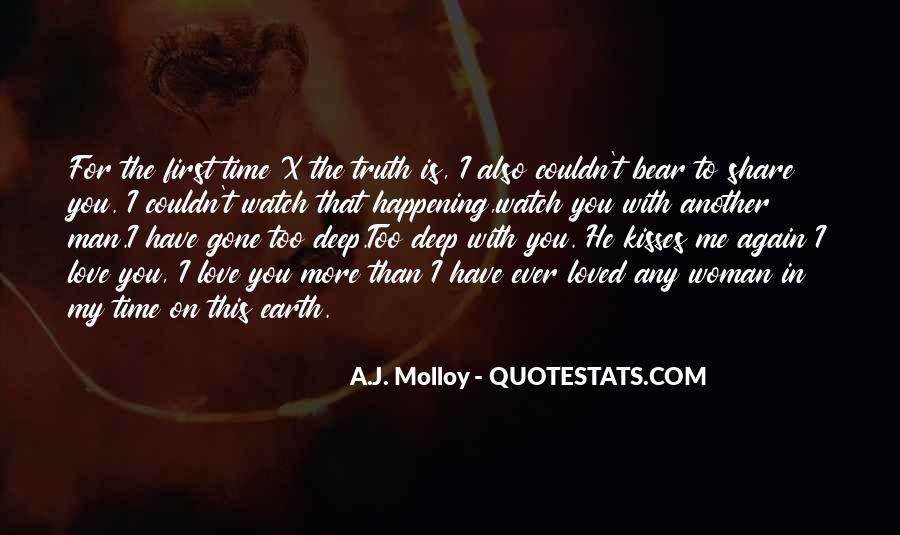 My Man Love Me Quotes #940334