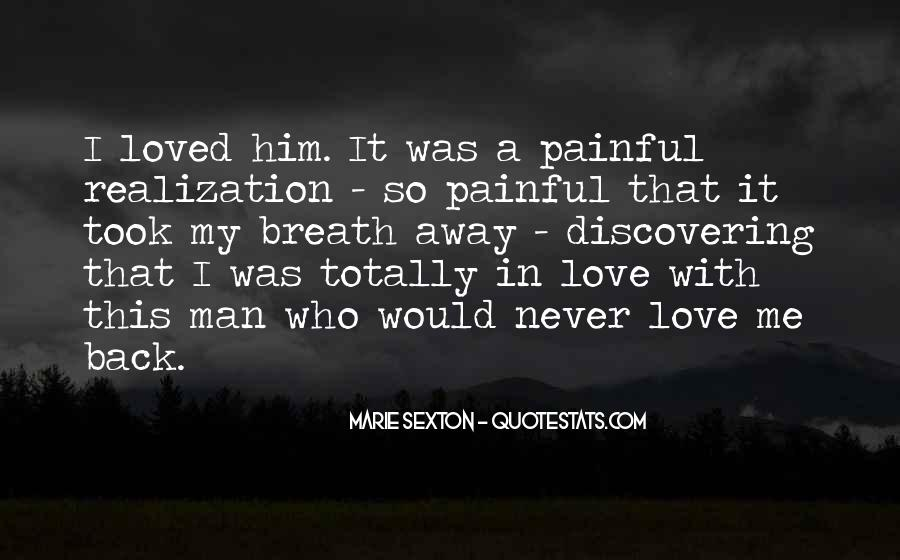 My Man Love Me Quotes #946884