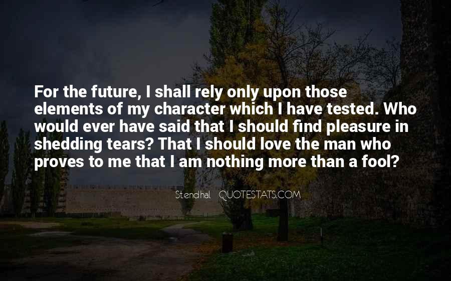 My Man Love Me Quotes #956854