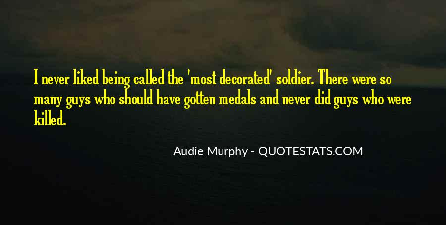 My Medals Quotes #195033