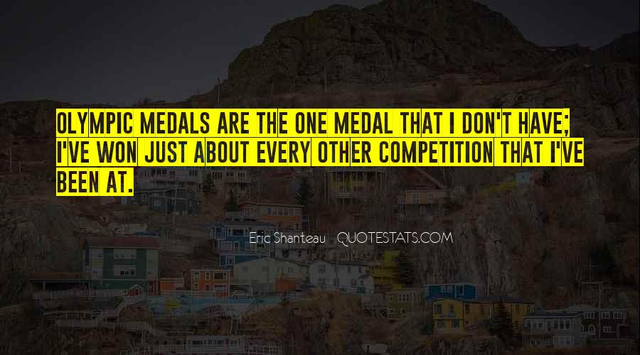My Medals Quotes #241877