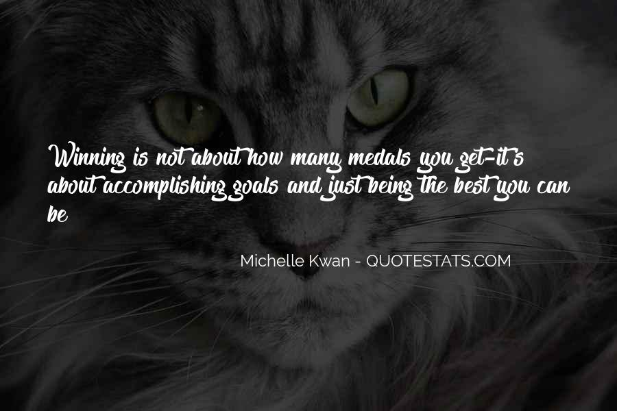 My Medals Quotes #331880