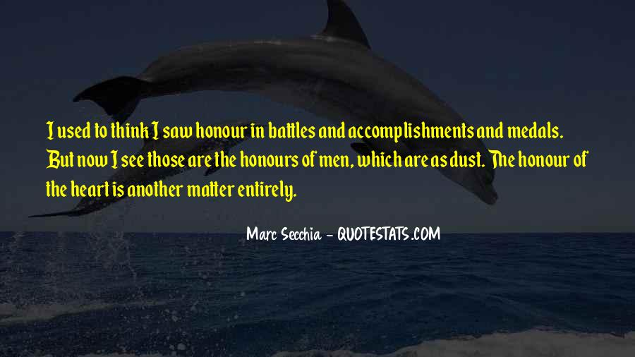 My Medals Quotes #350137