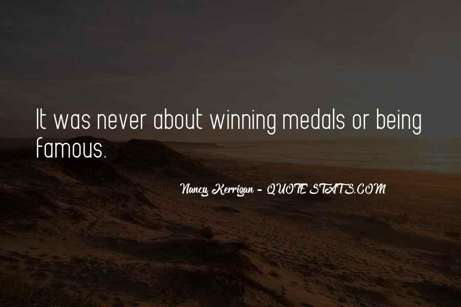 My Medals Quotes #48322