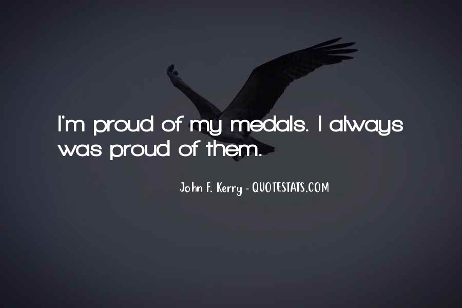 My Medals Quotes #531304