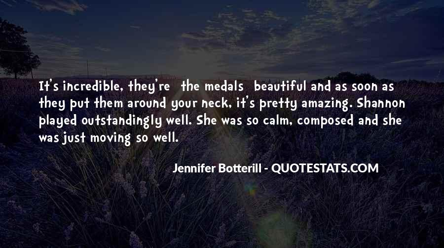 My Medals Quotes #536650