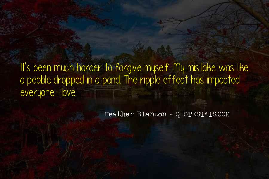 My Mistake Love Quotes #113042