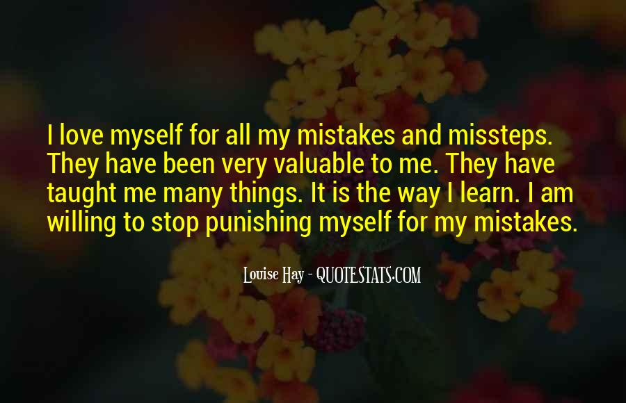 My Mistake Love Quotes #835356